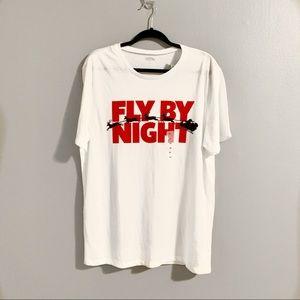 Old Navy Men's Fly By Night Xmas T-shirt Sz L NWT